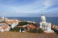 Stock Photo of Portugal, Lisbon, Alfama, view over the city