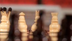 Chess game. Full HD. Motion video Stock Footage