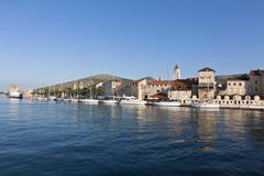 Croatia, Dalmatia, Trogir, View of old town Stock Photos