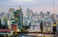Stock Photo of bangkok downtown