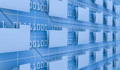 Browse computer data Stock Illustration