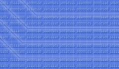 Stock Illustration of binary numbers background