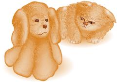 Puppy Stock Illustration