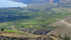 Wineries Okanagan Valley Day WS CC Stock Footage