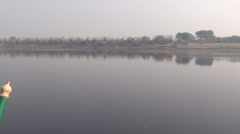 Yamuna river2 Stock Footage
