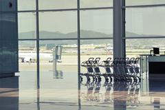 Stock Photo of airport nobody