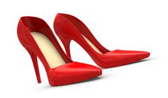 Stock Illustration of women shoes