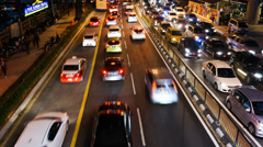 Traffic in KL Stock Footage