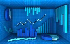 Analysis and statistics Stock Illustration