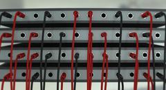 Audio/video plugs Stock Illustration