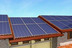 Stock Illustration of solar panels