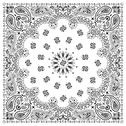 Stock Illustration of Bandana White