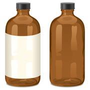 Bottle - stock illustration