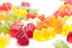Gummy bears candy Stock Photos