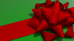Present & Bow Background Loop Stock Footage