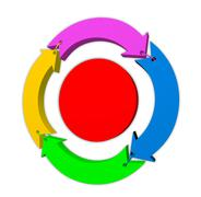 Lifecycle - stock illustration