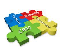 CRM - stock illustration