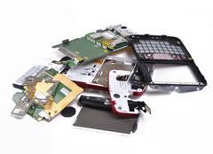 Stock Photo of Broken phone