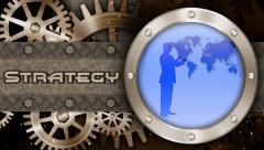 Business Gears Success Stock Footage