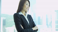 Stock Video Footage of Asian Chinese Female Financial Consultant Close Up