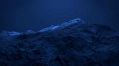 Blue liquid ocean sea water lava magma,mountain orogeny & volcanic activity. - stock footage