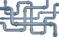 Stock Illustration of lot of pipes