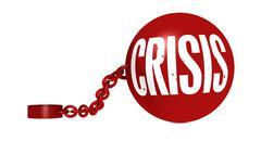 Crisis Stock Illustration