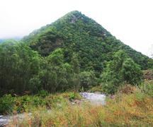 Mountain in Karvachar, Karabakh (Armenia) - stock photo