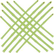 Vector grid of bamboo rods Stock Illustration
