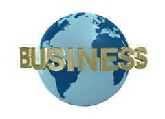 Stock Illustration of world business