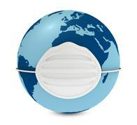 world pollution - stock illustration