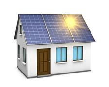 solar energy - stock illustration