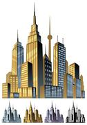 City Stock Illustration