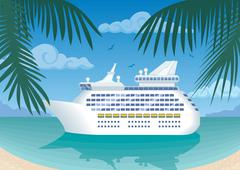 Cruise Stock Illustration