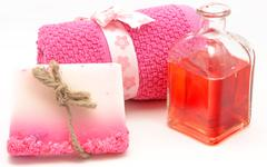 hygiene and beauty - stock photo