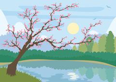 Sakura Stock Illustration
