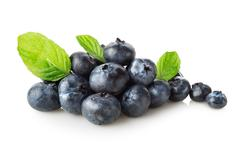 Useful blueberries Stock Photos
