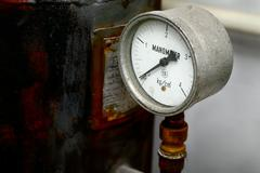 manometer - stock photo