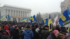 Euromaidan Kiev 7 Stock Footage