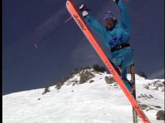 1992 Extreme Skiing A-Basin Stock Footage