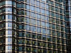 London docklands abstract Stock Photos
