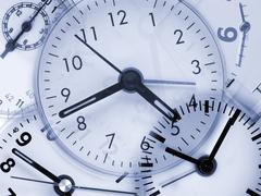 Stock Photo of clocks