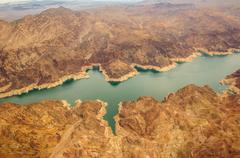 Lake Mead grand canyon Hooverin pato Kuvituskuvat