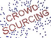 Stock Illustration of crowd sourcing