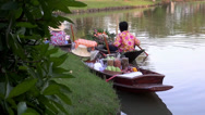 Stock Video Footage of Rama ix park festival 2013 - Floating market (36)
