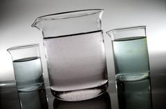 beakers - stock photo