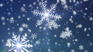 Stock Video Footage of Snowy1 - New Edition - Snow / Christmas Video Background Loop