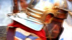 Roman army 59 Stock Footage