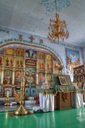 Stock Photo of interior of the orthodox church