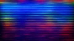 Multicolored flashing lines loopable background Stock Footage